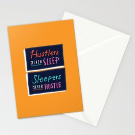Never Sleep Stationery Cards