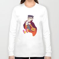 vampire Long Sleeve T-shirts featuring Vampire by Chicherova Olga