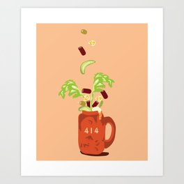 414 Bloody Mary Art Print