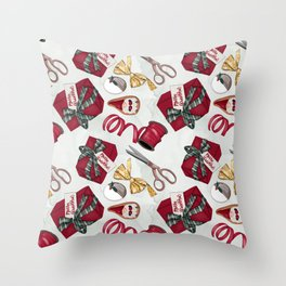 Christmas | Hygge | Gift | Pattern Throw Pillow