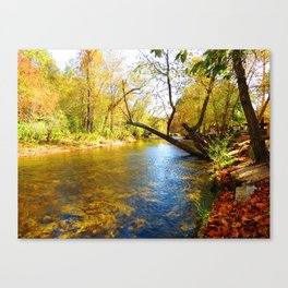 On the Hooch Canvas Print