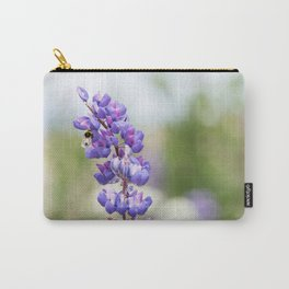 Bumblebee and lupine Carry-All Pouch