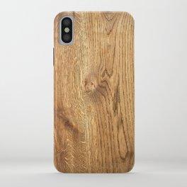 Wood Wood iPhone Case