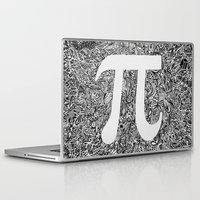 pi Laptop & iPad Skins featuring PI by Nora