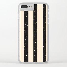 Let it golden snow Clear iPhone Case