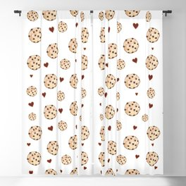 I Love Chocolate Chip Cookies Blackout Curtain