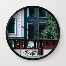 A Day in Amsterdam Wall Clock