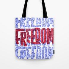 Faith & Freedom I Tote Bag
