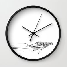 120km/h // (cheetah) Wall Clock