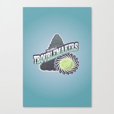 Tribble Troublemakers Canvas Print
