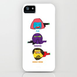 "Cartoonish heroes ""Rogue one"" iPhone Case"