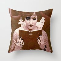 metal Throw Pillows featuring Metal. by Türkis