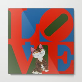That Furry Thing Called Love Metal Print