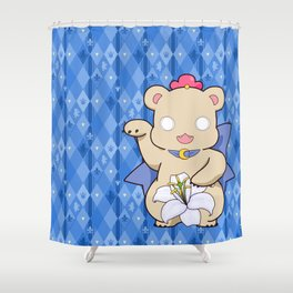 Lily Bear Kureha Shower Curtain