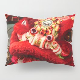 Red Lion Pillow Sham