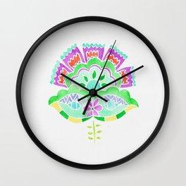 Flower 2 Wall Clock