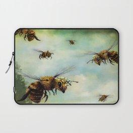 Crown of Bees Laptop Sleeve