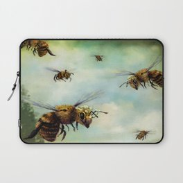 Crown of Bees Laptop Sleeve
