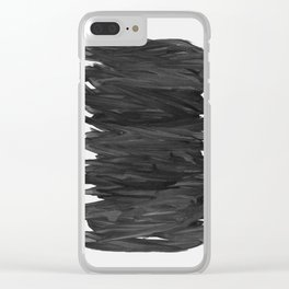 Abstract Minimalism #2 #minimal #ink #decor #art #society6 Clear iPhone Case