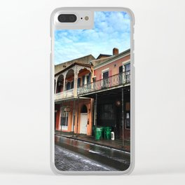 French Quarter Clear iPhone Case