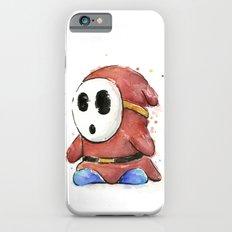 Shy Guy Watercolor Mario Art iPhone 6s Slim Case