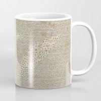 seashell Mugs featuring SEASHELL by Mary Szulc