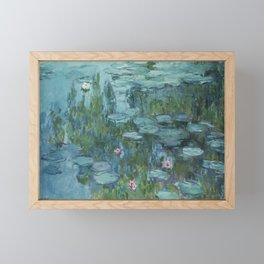 Water Lilies 2 Framed Mini Art Print