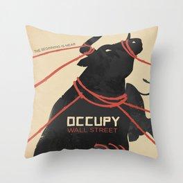 THE BEGINNING IS NEAR Throw Pillow
