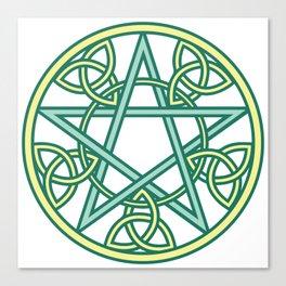 Celtic Pentacle Canvas Print