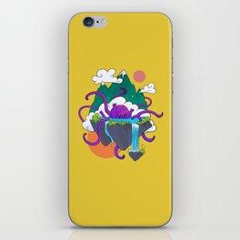 Kraken Soup - Yellow iPhone Skin