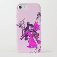 ramen iPhone & iPod Cases featuring Ramen Burger by Blue