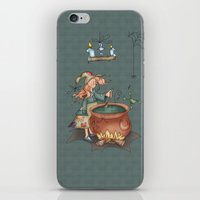 witch iPhone & iPod Skins featuring Witch by Catru