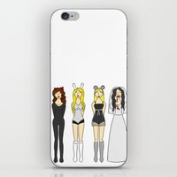 mean girls iPhone & iPod Skins featuring Mean Girls Halloween by CozyReverie