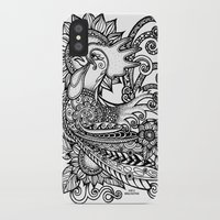 rooster iPhone & iPod Cases featuring Rooster by Sheila Rayyan