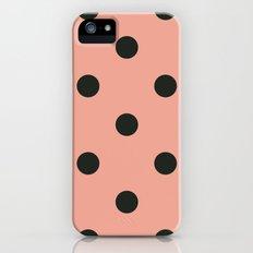 Polkas in sheer stocking  iPhone (5, 5s) Slim Case