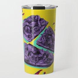 Favourite Food - Yellow by Chrissy Curtin Travel Mug