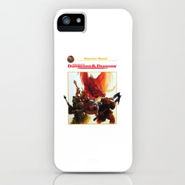 dungeons and dragons - advanced iPhone Case