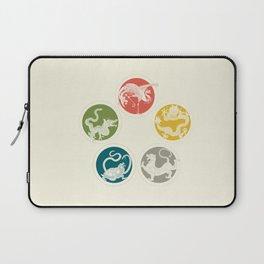 Five Heavenly Beasts Laptop Sleeve