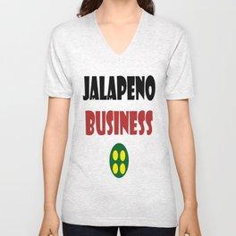 JALAPENO BUSINESS Unisex V-Neck