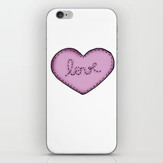 Love in your heart. iPhone & iPod Skin