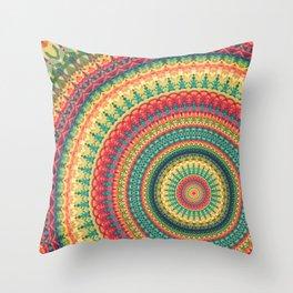 Mandala 138 Throw Pillow