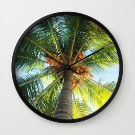 El Palm Wall Clock