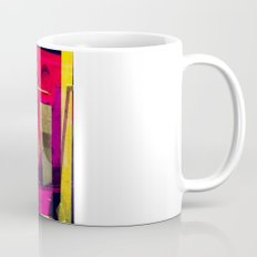 Industrial Abstract Twins Coffee Mug