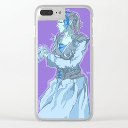 Ice Queen Requiem Clear iPhone Case