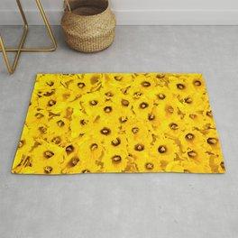 Daffodils pattern Rug