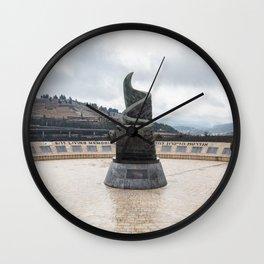 September 11 Memorial in Jerusalem Wall Clock