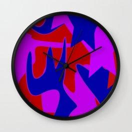SIx Qi Wall Clock