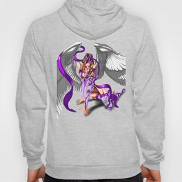 Lilith Violet Touch, The Purple Angel Hoody