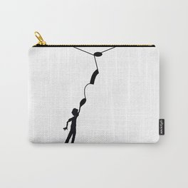 Hooked on the music note Carry-All Pouch