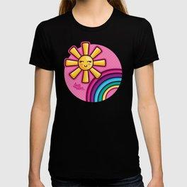 Rainbow Sunshine - Laura Wayne Design T-shirt
